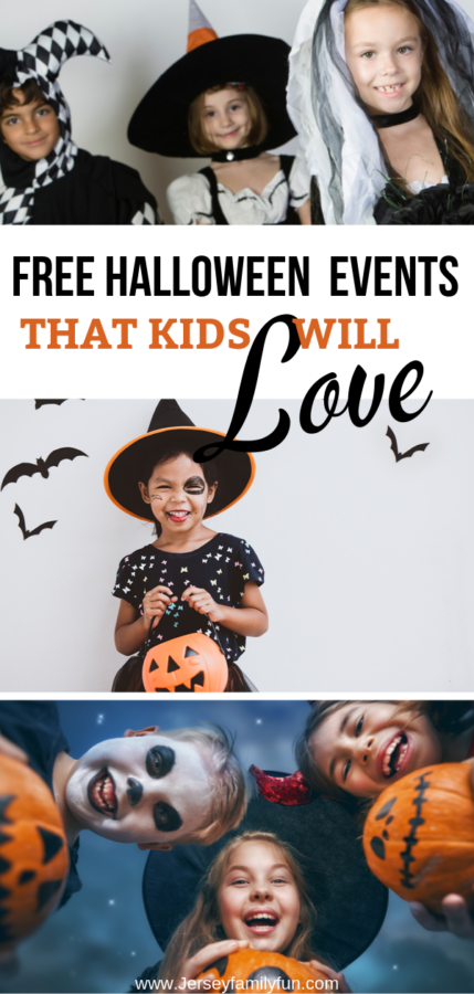 Free Halloween events in New Jersey for kids