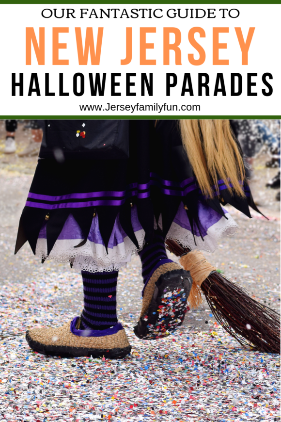 Jersey Family Fun guide to halloween parades in New Jersey