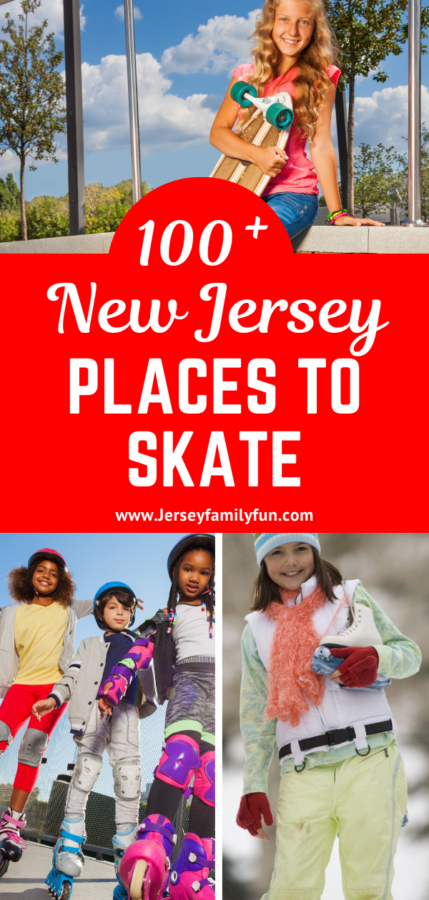 100+ New Jersey places to skate