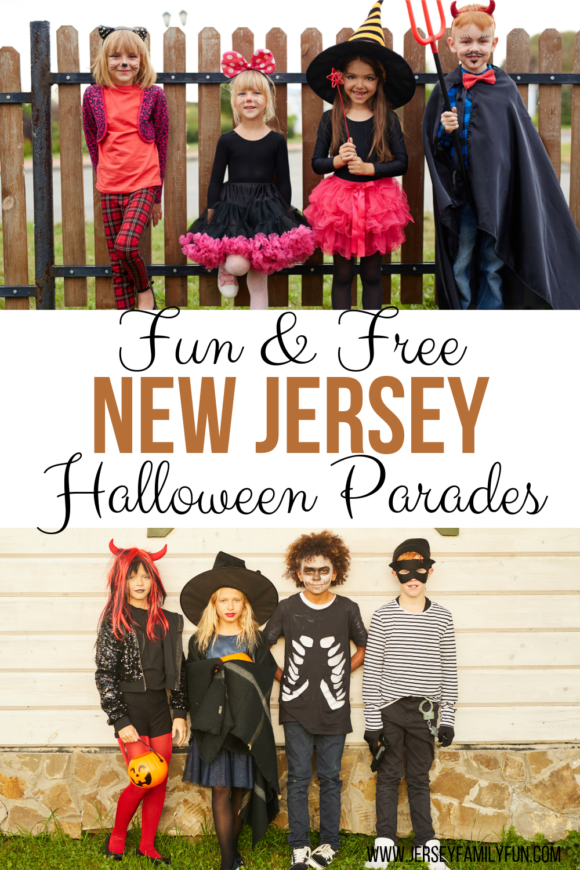 fun and free halloween parades in New Jersey