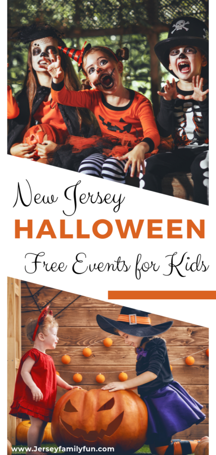 Free Halloween events for kids in New Jersey