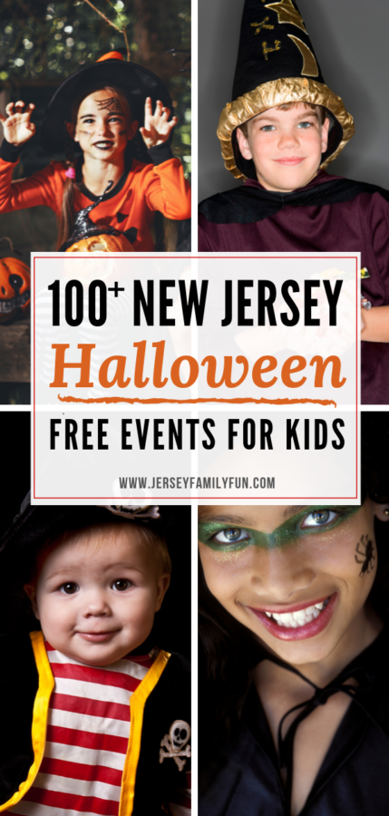 Over 100 Free NJ Halloween events for kids