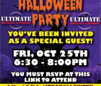 The ultimate karate halloween party in Atco