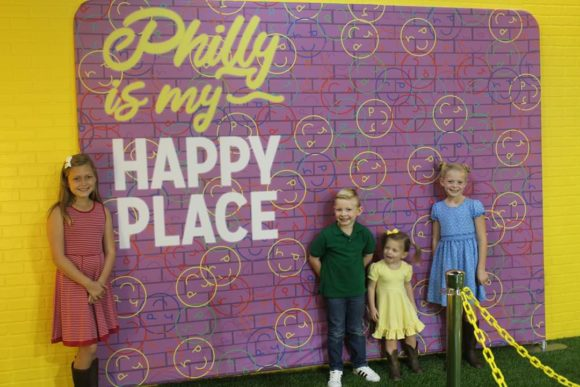 Happy Place Philadelphia Philly is my happy place backdrop