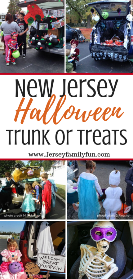 NJ Trunk or Treats collage of images
