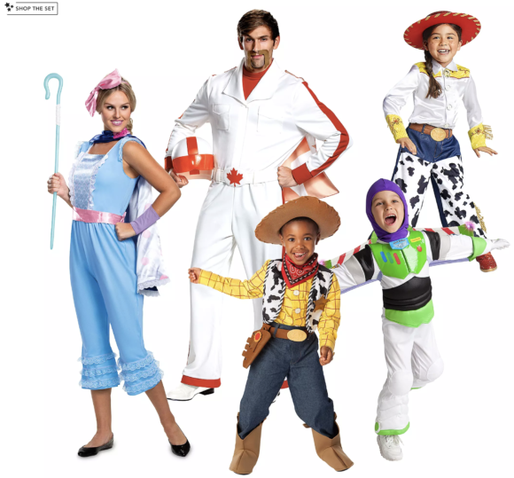 Toy Story 4 Costume Collection for Family