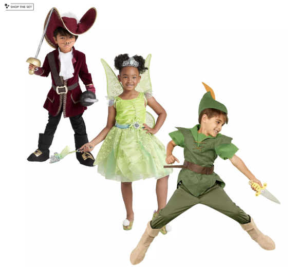 Disney Peter Pan Costume Collection for Family