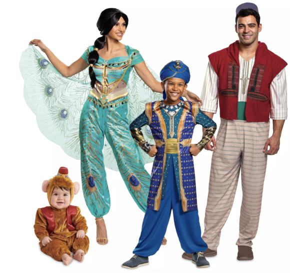 Disney Aladdin costumes for the family