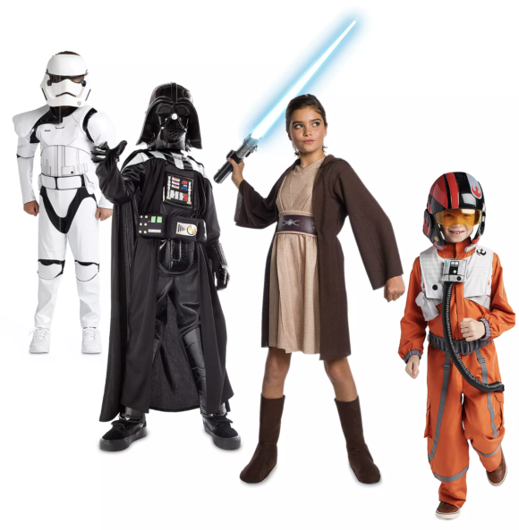 Disney Star Wars Costume Collection for families