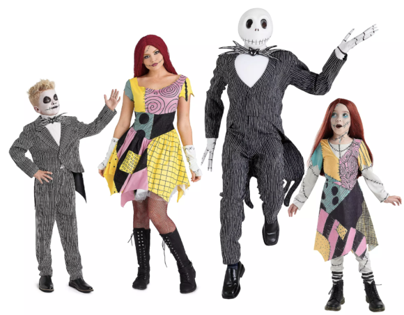 The Nightmare Before Christmas Costume Collection for Family