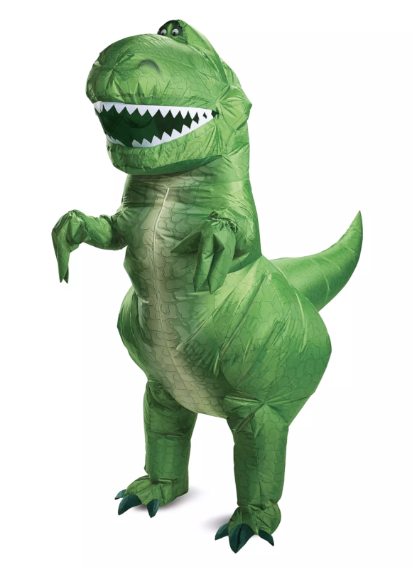 Rex Inflatable Costume for Adults by Disguise