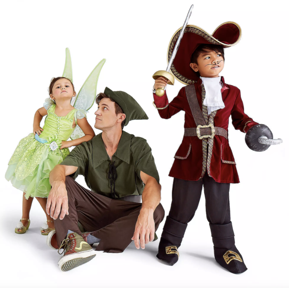 Disney Costume Sets for Families Peter Pan
