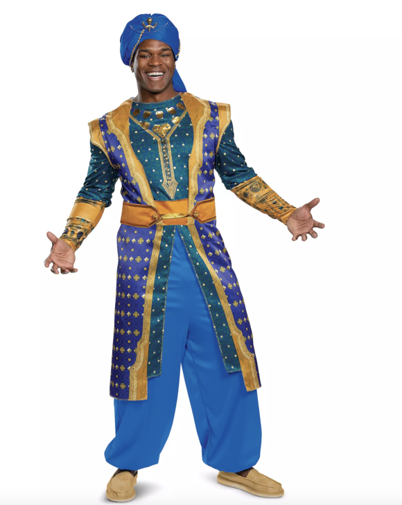 Genie Deluxe Costume for Adults by Disguise – Live Action Film