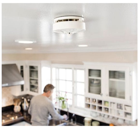 Xfinity home smoke detector that can be controlled with xfinity voice commands