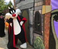 Sylvester the cat at Fright Fest at Great Adventure
