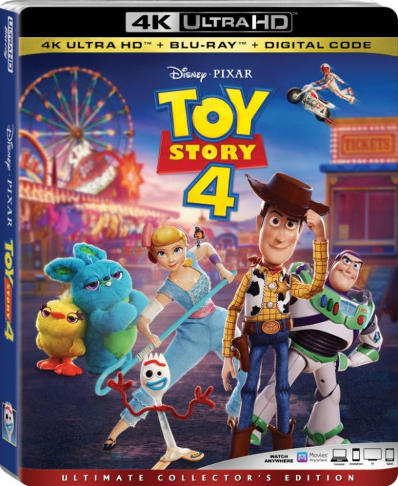 Toy Story 4 DVD Bonus Features