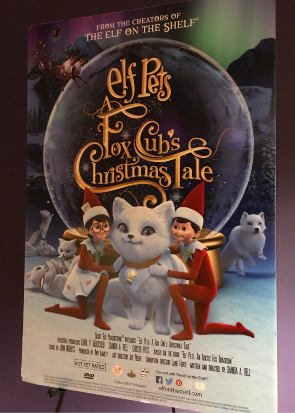 Elf on the shelf movie poster