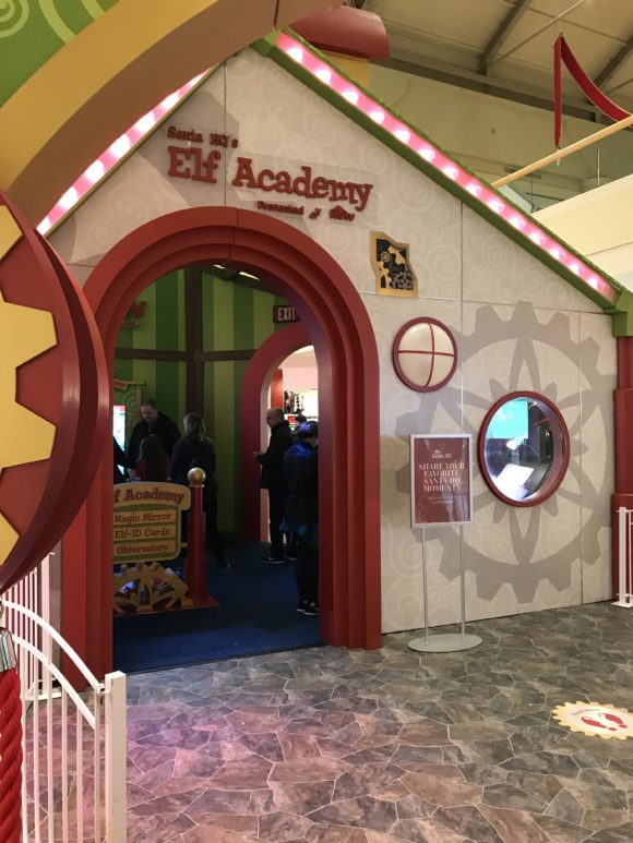 The Elf Academy that is part of Santa HQ at participating New Jersey Shopping Centers