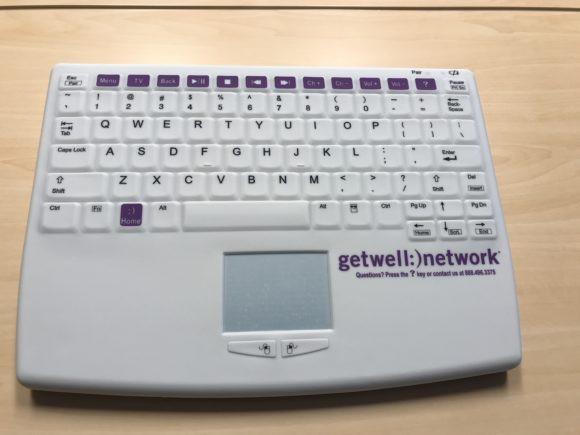 Inspira Medical Center Mullica Hill get well network keyboard