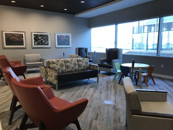 Inspira Medical Center Mullica Hill upstairs waiting area