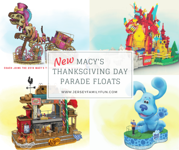 New Macy's Thanksgiving Day Parade Floats
