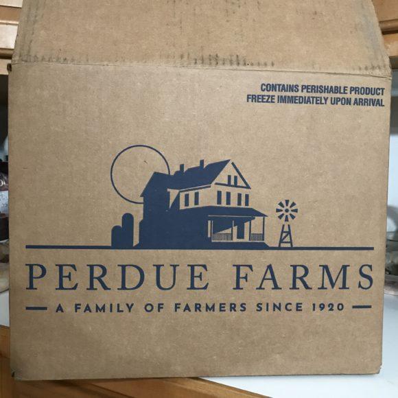 Perdue farms delivery box