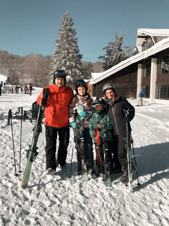 Family Ski at Pico Mountain