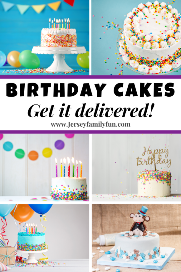 collage of birthday cakes