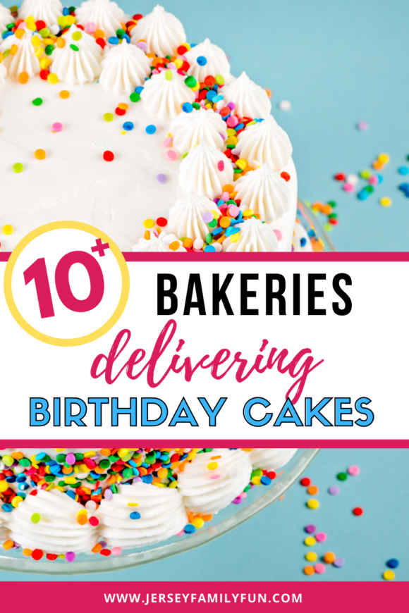 10 Bakeries that deliver birthday cakes to New Jersey