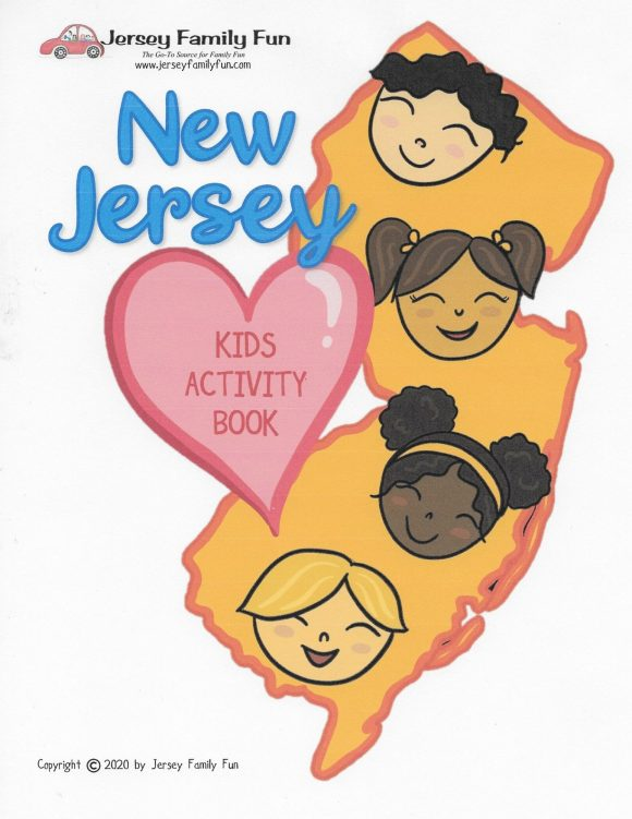 New Jersey Kids Activity Book cover