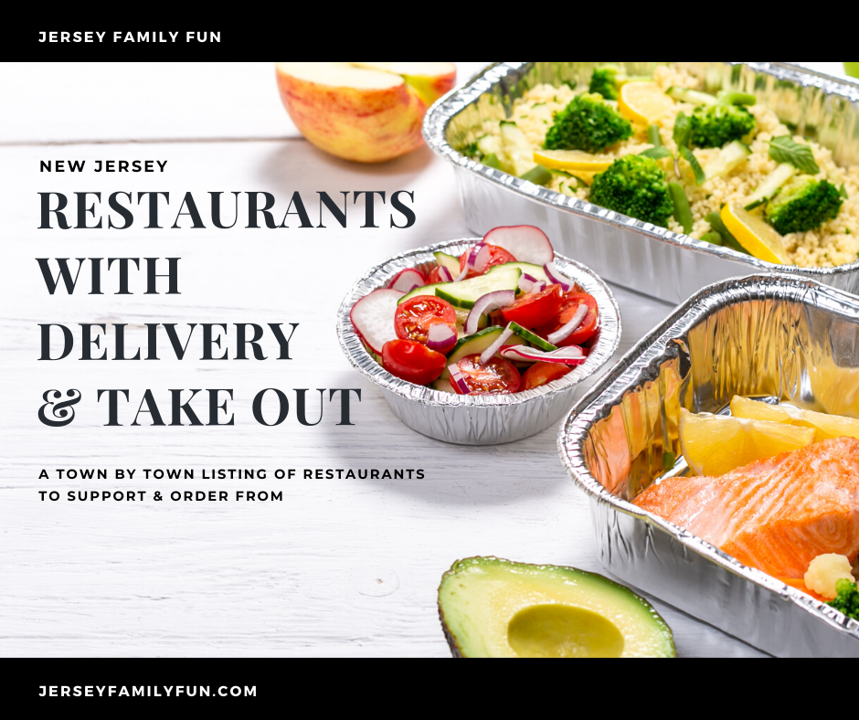 New jersey restaurants that offer delivery and takeout