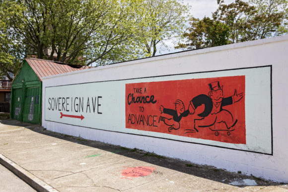 Atlantic City Mural Take A Chance to Advance by GREG SIMMONS