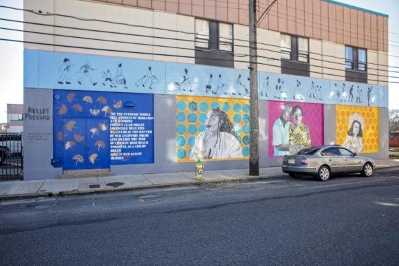 Atlantic City mural Memory by KELLEY PREVARD