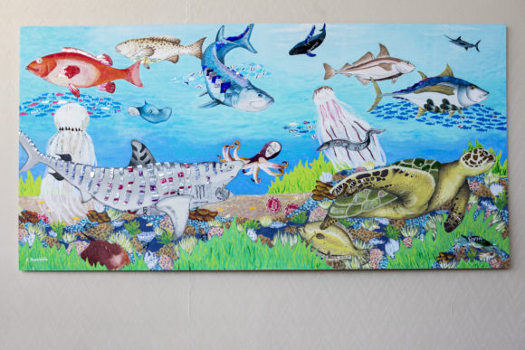 Atlantic City mural Recycled Reef by ROBERT ROSSIELLO