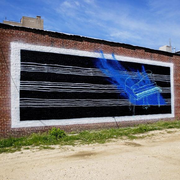CASEY B Jazzed Atlantic City Mural