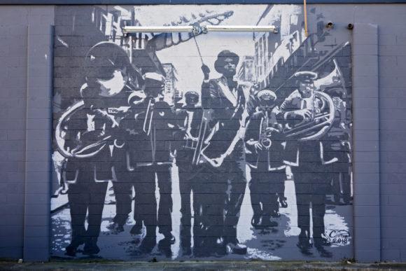 Christian Correa -Bourre Atlantic City Mural New Second Line