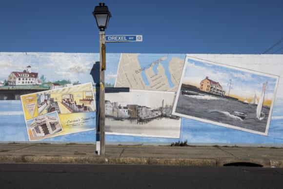 GLENN TAYLOR Greetings from Bungalow Park Atlantic City Mural