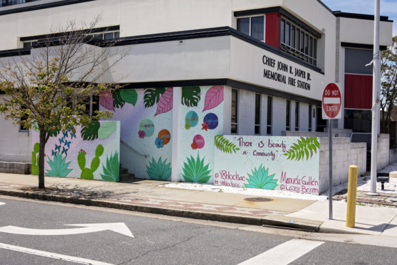 MANUELA GUILLEN Viva Campensina mural in Atlantic City 1