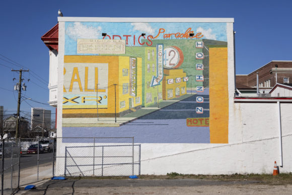 MARK CHU CHARLES BARBIN All Signs Point to a New Horizon mural in Atlantic City