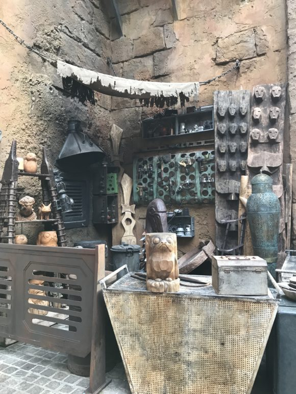 Black Spire Outpost merchant stand at Batuu at Star Wars Galaxy's Edge at Walt Disney World Hollywood Studios