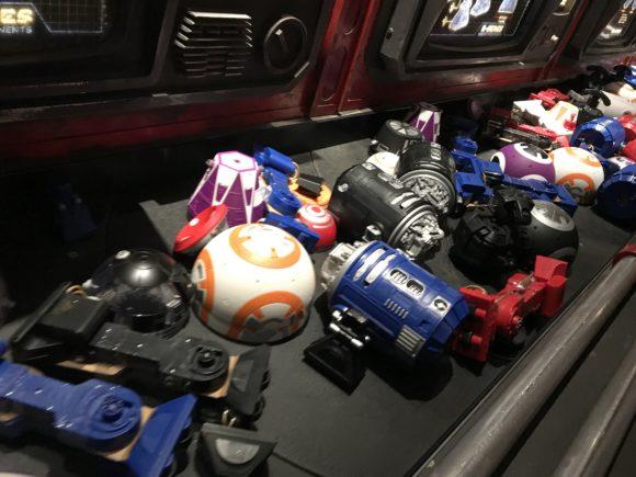 Droid Depot at Star Wars Galaxy's Edge at Walt Disney World Hollywood Studios