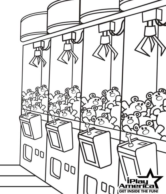 iPlay America Coloring Page
