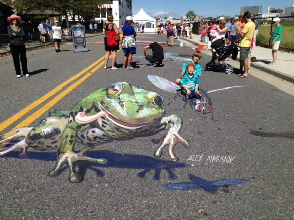 Atlantic City Chalk Art Festival