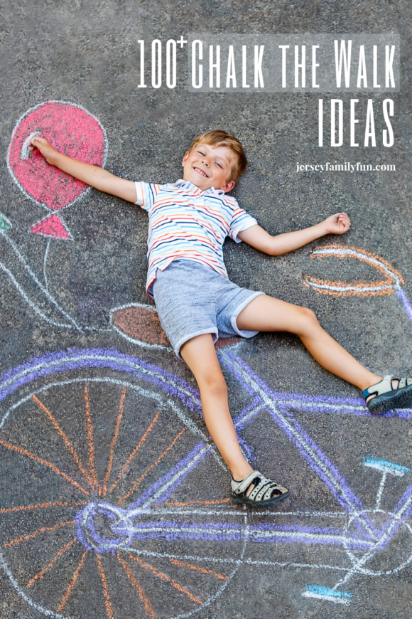 100 chalk the walk ideas image for pinterest page
