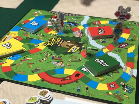 The game plan game is a great game option for kids ages 4 - 10.