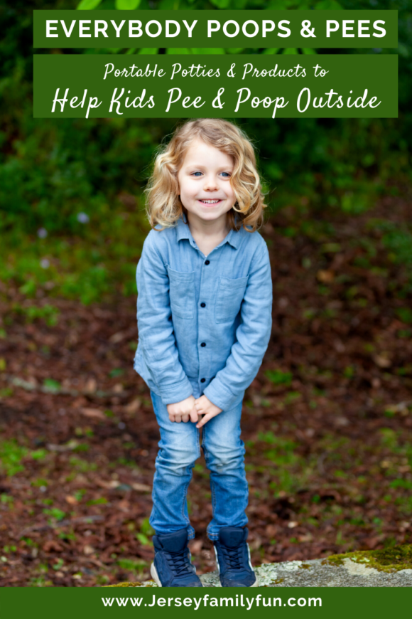 Child standing with knees together