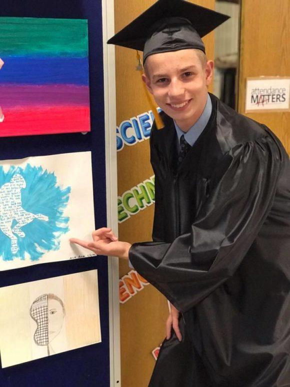 8th grade graduate student