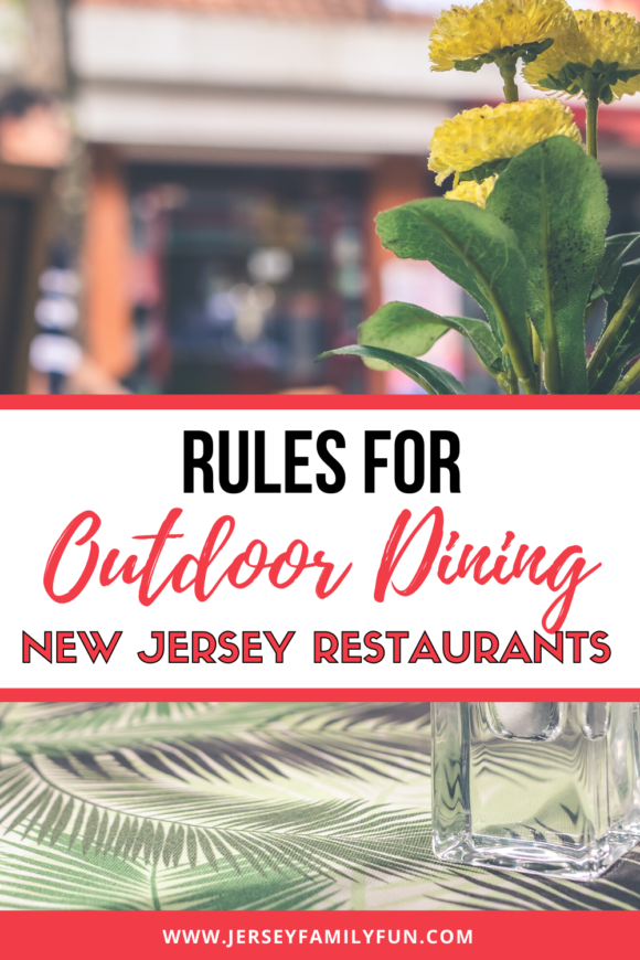 outdoor table at New Jersey restaurant