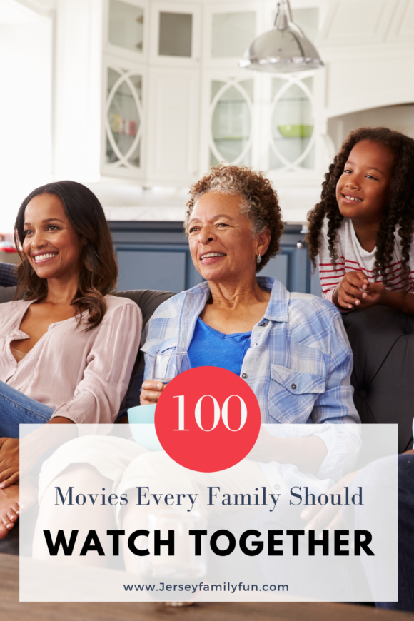 100 Movies every family should watch together suggestions