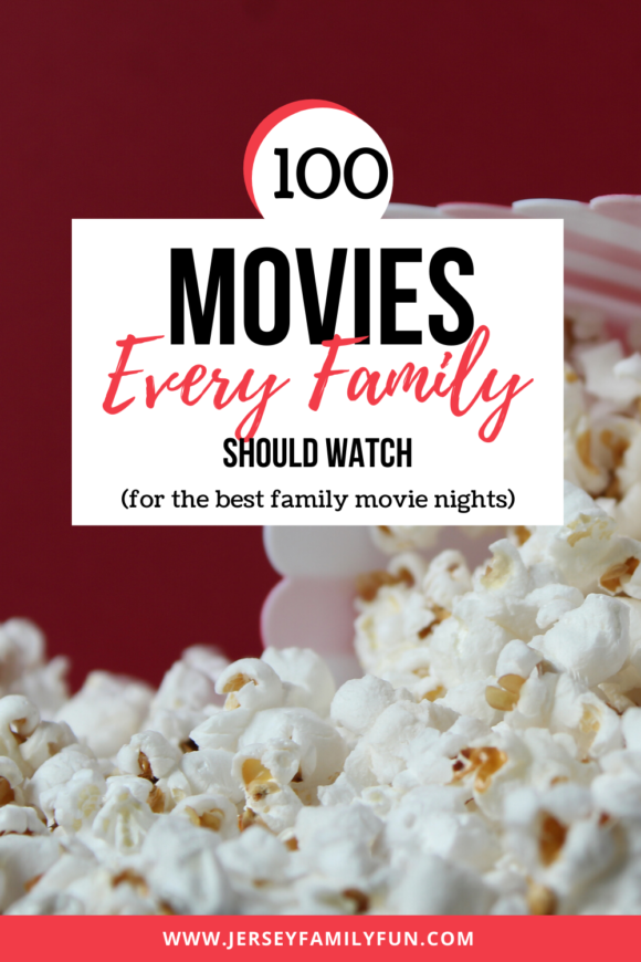 recommendations for 100 Movies every family should watch together